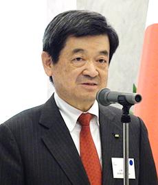 小林栄三日本・トルコ協会会長