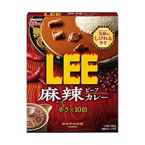「麻辣ビーフカレー LEE」発売(江崎グリコ)