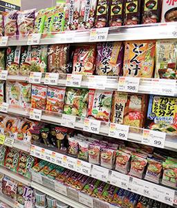 ◆即席味噌汁特集:多彩な商品で消費を刺激 成長見込める有望市場