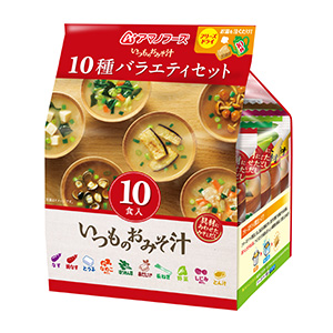 即席味噌汁特集:主要メーカー動向=アサヒグループ食品 設備投資で供給量アップ