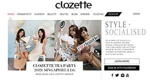 クローゼット(Clozette)Webサイト