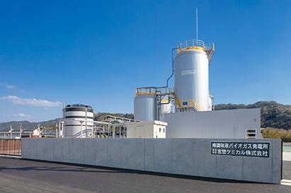 梅調味液バイオガス発電所