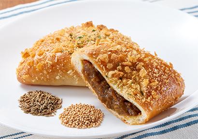 辛さでなく、スパイスの効いたカレーパン