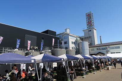 長岡市の4社同日蔵開きは初開催(写真は吉乃川)