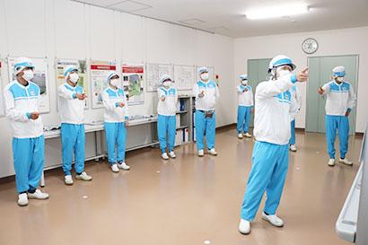 特集・労働安全2019:先進事例=明治 関西アイスクリーム工場