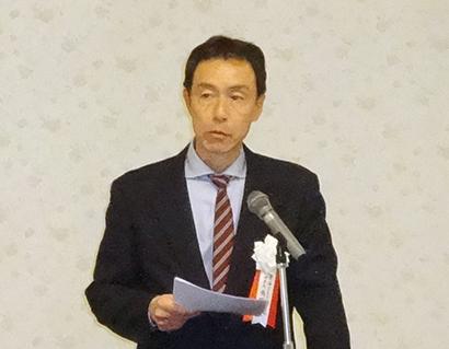角野信二理事長