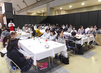ふれあいクッキング☆スタジアム特集:塩水港精糖 スイーツに整腸効果