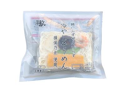 横尾商店、鍋使わず調理可能「レンジで揖保乃糸」 夏に向け注力