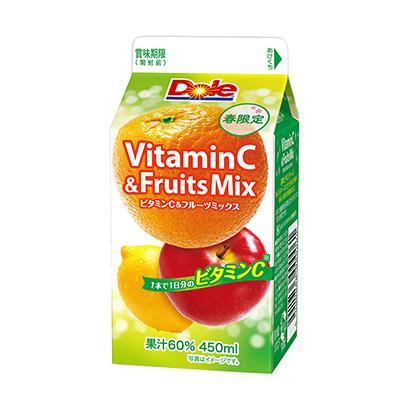 「Dole VitaminC&Fruits Mix」発売(雪印メグミルク)