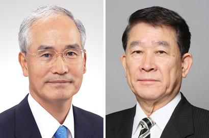 浦野光人氏(左)と今村隆郎氏