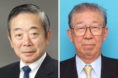 古川紘一氏(左)と山口義弘氏