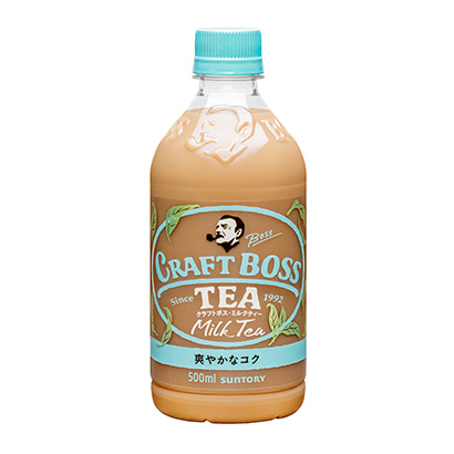 「クラフトボス ミルクTEA」発売(サントリー食品インターナショナル)