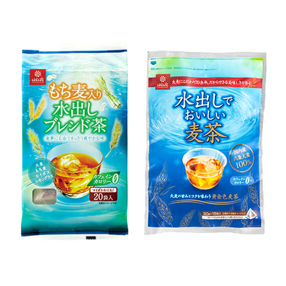 麦茶・健康茶特集:主要メーカー動向=はくばく 水出しなどプレミアム系が好調