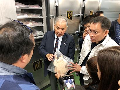 タイ食品関連企業一団、アビーの「CAS」視察