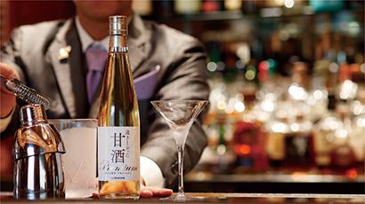 ハナマルキ、透明甘酒カクテルをウェスティンホテル東京で提供