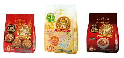 ひかり味噌、中国でスープ春雨販売 龍大食品と業務提携