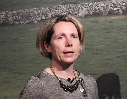 アイルランド政府食糧庁のタラ・マッカーシー長官