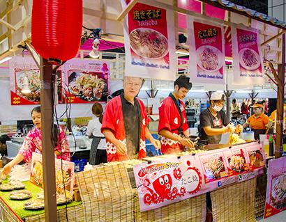 海外日本食 成功の分水嶺(78)たこ焼き・お好み焼き・焼そば「祭」<下>
