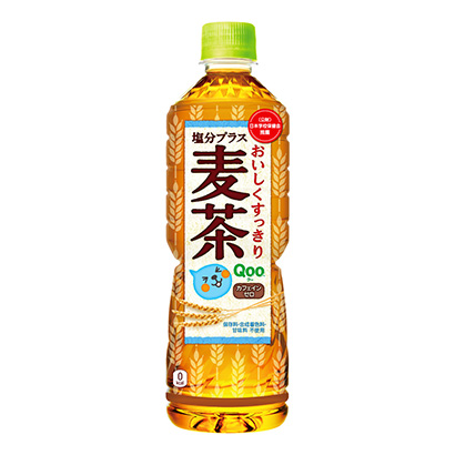 「Qoo 塩分プラス麦茶」発売(コカ・コーラシステム)