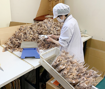 東北乾物特集:山形丸魚 重要さ増す乾物工場、60品目を製造