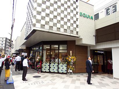 駅ナカ施設エキア内に出店した東武ストアの都市型ミニSM