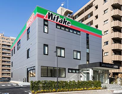 2月に竣工した新社屋