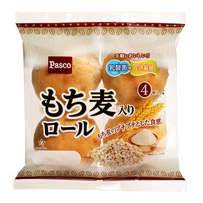 「もち麦入りロール」発売(敷島製パン)