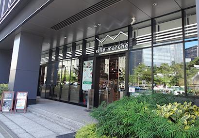 イオンのヴィルマルシェはオフィス立地の洗練されたイメージの店