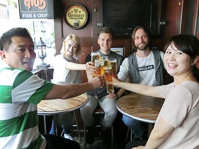 ラグビーファンのビール消費量はサッカーファンをしのぐ