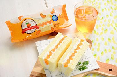 モンテール、「フルーツサンド・みかん」期間限定発売 ケーキ仕立てで展開