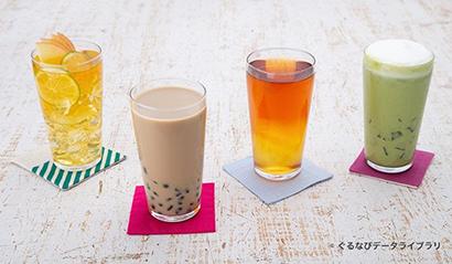ぐるなび、夏のトレンドドリンクに「ネオ台湾茶」選出