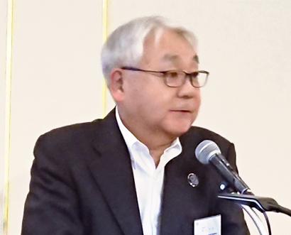 日本加工食品卸協会東北支部、奥山則康専務理事が活動報告