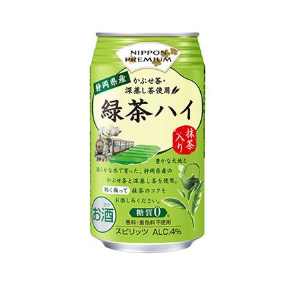 「NIPPON PREMIUM 静岡県産緑茶ハイ」発売(合同酒精)