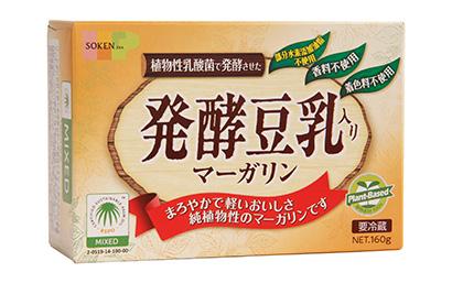 マーガリン類特集:創健社 「発酵豆乳入り」が伸長 品質・安全・健康に視点