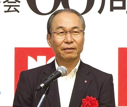 日本給食品連合会が60周年式典・懇親会 三宅宏和氏 ともに物語性ある商品開発…