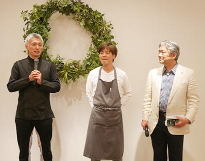 """料理マスターズ特集:シェフズキッチン東京vol.33 """"花を愛でる料理""""でコ…"""