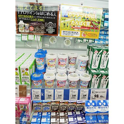 ◆プロテイン・高タンパク質商品特集:ユーザー拡大受け成長軌道
