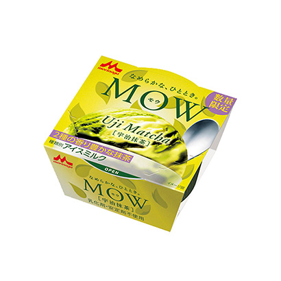 「MOW 宇治抹茶」発売(森永乳業)