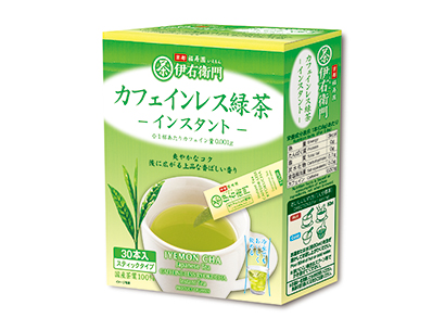 緑茶特集:宇治の露製茶 「伊右衛門煎茶」刷新 カフェインレス緑茶も発売