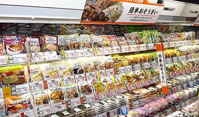 ◆パウチ惣菜特集:健康志向反映商品が増加、競争は熾烈に