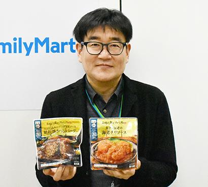 パウチ惣菜特集:ファミリーマート 定番商品を磨き上げ、女性客開拓へ寄与