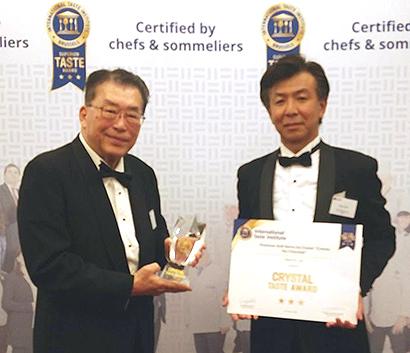 日世「クレミア」、6年連続iTQi三つ星を受賞