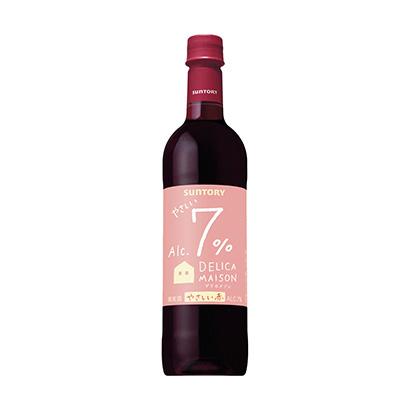 「デリカメゾン7% 赤」発売(サントリーワインインターナショナル)