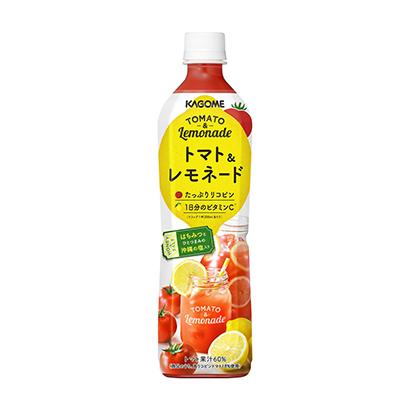 「カゴメ トマト&レモネード」発売(カゴメ)