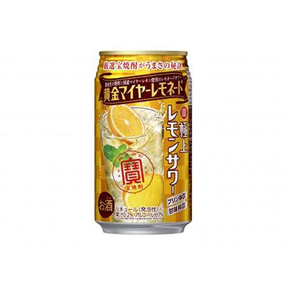 「寶 極上レモンサワー 黄金マイヤーレモネード」発売(宝酒造)