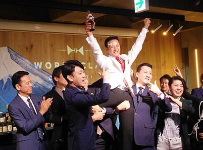 キリン・ディアジオ、バーテンダー大会を開催 吉田宏樹氏が日本大会優勝