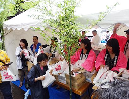 全国乾麺協同組合連合会、「七夕・そうめんの日」にサンプリングイベント