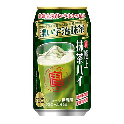 「寶 極上抹茶ハイ 濃い宇治抹茶」発売(宝酒造)