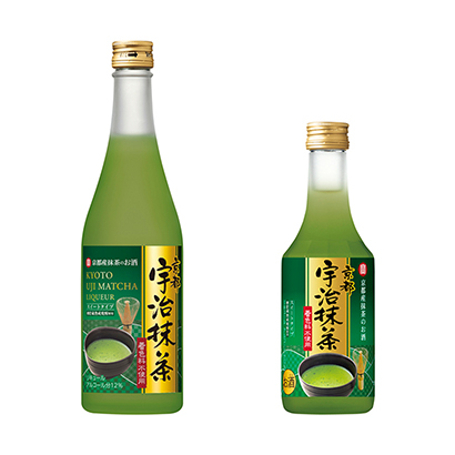 「寶 京都産抹茶のお酒 京都宇治抹茶」発売(宝酒造)