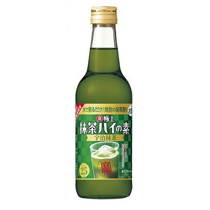 「寶 極上抹茶ハイの素 宇治抹茶」発売(宝酒造)